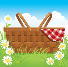 stock-illustration-19854959-picnic-basket-and-daisies